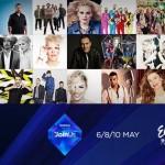 Eurovision 2014 Semi Final 2 隨賽紀錄