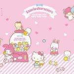Little Twin Stars Wallpaper 2017 一月桌布 台灣官方復古昭和女孩風版