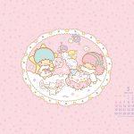 Little Twin Stars Wallpaper 2014 五月桌布 日本官方月曆