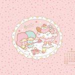 Little Twin Stars Wallpaper 2014 九月桌布 日本官方月曆