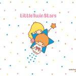 受保護的內容: Little Twin Stars Wallpaper 2015 二月桌布 日本官方四十周年系列