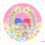 受保護的內容: Little Twin Stars Wallpaper 2015 五月桌布 日本官方四十周年系列