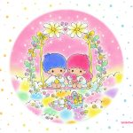Little Twin Stars Wallpaper 2015 五月桌布 日本官方四十周年系列