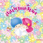 受保護的內容: Little Twin Stars Wallpaper 2015 八月桌布 日本官方四十周年系列