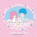 受保護的內容: Little Twin Stars Wallpaper 2015 九月桌布 日本官方四十周年系列