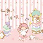 Little Twin Stars Wallpaper 2015 十月桌布 日本官方四十周年系列