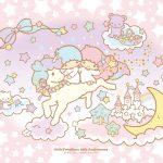 Little Twin Stars Wallpaper 2015 十二月桌布 日本官方四十周年系列