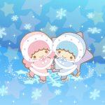 Little Twin Stars Wallpaper 2016 二月桌布 日本官方Twitter票選冰舞之夜版