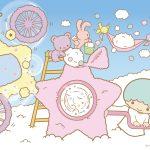 受保護的內容: Little Twin Stars Wallpaper 2016 五月桌布 日本官方Twitter票選造雲機版