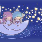 Little Twin Stars Wallpaper 2016 七月桌布 日本官方Twitter票選螢火蟲版