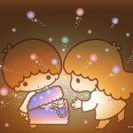 受保護的內容: Little Twin Stars Wallpaper 2016 八月桌布 日本官方Twitter票選寶物盒版