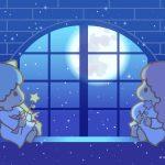 Little Twin Stars Wallpaper 2016 九月桌布 日本官方Twitter票選冰屋望月版