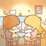 受保護的內容: Little Twin Stars Wallpaper 2016 十二月桌布 日本官方Twitter票選燭光暖心版