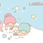 Little Twin Stars Wallpaper 2015 好康桌布 美國官方 B 款
