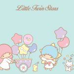 Little Twin Stars Wallpaper 2015 好康桌布 美國官方 C 款