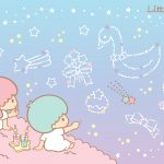 Little Twin Stars Wallpaper 2015 好康桌布 美國官方 D 款