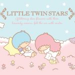 Little Twin Stars Wallpaper 2015 好康桌布 美國官方 E 款