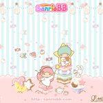 Little Twin Stars Wallpaper 2011 二月桌布 日本 SanrioBB Present
