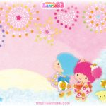 Little Twin Stars Wallpaper 2011 八月桌布 日本 SanrioBB Present