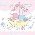 Little Twin Stars Wallpaper 2012 七月桌布 日本 SanrioBB Present