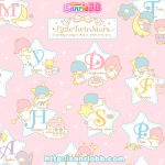 Little Twin Stars Wallpaper 2012 九月桌布 日本 SanrioBB Present