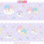 受保護的內容: Little Twin Stars Wallpaper 2012 十一月桌布 日本 SanrioBB Present