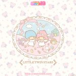Little Twin Stars Wallpaper 2013 三月桌布 日本 SanrioBB Present