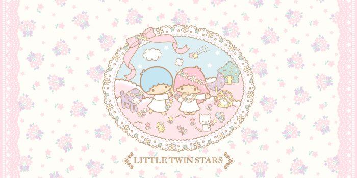 Little Twin Stars Wallpaper 2013 三月桌布 日本 SanrioBB Present ... Little Twin Stars Wallpaper 2013