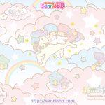 受保護的文章:Little Twin Stars Wallpaper 2013 六月桌布 日本 SanrioBB Present