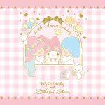 Little Twin Stars Wallpaper 2015 七月桌布 日本草莓新聞