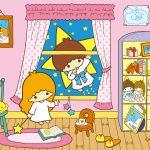 Little Twin Stars Wallpaper 2015 十二月桌布 日本草莓新聞