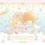 Little Twin Stars Wallpaper 2016 十二月桌布 日本草莓新聞