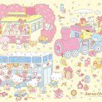 受保護的內容: Little Twin Stars Wallpaper 2017 一月桌布 日本草莓新聞
