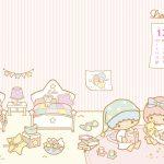 Little Twin Stars Wallpaper 2013 十二月桌布 台灣官方歡迎來我家版