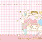 Little Twin Stars Wallpaper 2015 八月桌布 台灣官方生日派對版