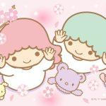 受保護的內容: Little Twin Stars Wallpaper 2017 三月桌布 日本官方Twitter票選春之櫻版