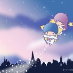Little Twin Stars Wallpaper 2017 四月桌布 日本官方Twitter票選空之日版