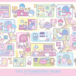 Little Twin Stars Wallpaper 2017 五月桌布 日本草莓新聞