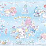 受保護的內容: Little Twin Stars Wallpaper 2017 六月桌布 日本官方電子報