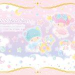 受保護的內容: Little Twin Stars Wallpaper 2017 八月桌布 日本官方電子報