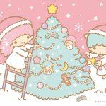 Little Twin Stars Wallpaper 2017 十二月桌布 日本官方Twitter票選聖誕版