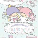 受保護的文章:Little Twin Stars Wallpaper 2017 十二月桌布 日本官方Twitter生日特別版