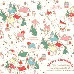 Little Twin Stars Wallpaper 2017 十二月桌布 日本官方聖誕版