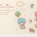 受保護的內容: Little Twin Stars Wallpaper 2018 三月桌布 日本官方Twitter刺繡版