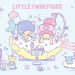 Little Twin Stars Wallpaper 2018 七月桌布 日本官方Twitter風呂版