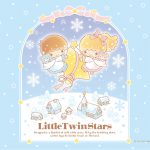Little Twin Stars Wallpaper 2018 十二月桌布 日本官方Twitter冬日版