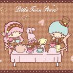 Little Twin Stars Wallpaper 2019 二月桌布 日本官方Twitter愛麗絲版