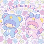 Little Twin Stars Wallpaper 2019 五月桌布 日本官方Twitter Puff & Poff版