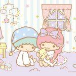 Little Twin Stars Wallpaper 2019 九月桌布 日本官方Twitter睡衣版