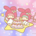 Little Twin Stars Wallpaper 2020 一月桌布 日本官方Twitter慶生版